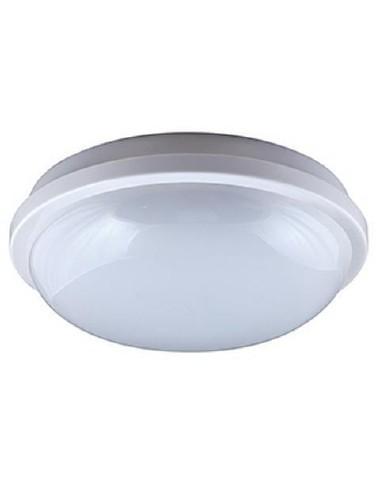 BEG 75321 - GEO LED 15W ROUND WHITE 4K