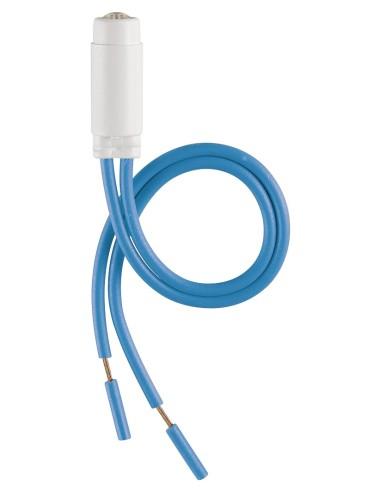 VIW 00936.250.B - Unita' segnal. LED 250V 0,5W azzurro