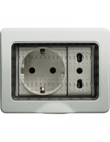 BTI 25503 - idrobox matix - custodia IP55 3P