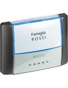 BTI 26108L - idrobox - pulsante targa IP55 antracite