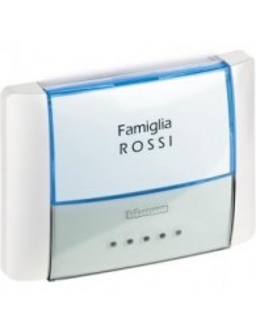 BTI 26108N - idrobox - pulsante targa IP55 bianco
