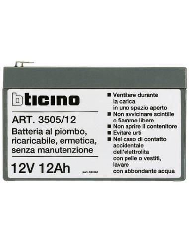 BTI 3505/12 - living - pila 12V 12Ah sirena antifurto