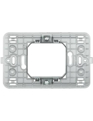 BTI 500S/23A - matix - supporto 2 mod centr scatola tonda