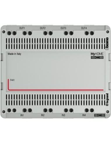 BTI F441 - SCS - nodo audio/video 6 DIN