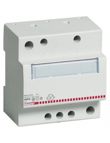 BTI F94/12/24 - btdin - trasformatore 230/12/24V SELV 40VA