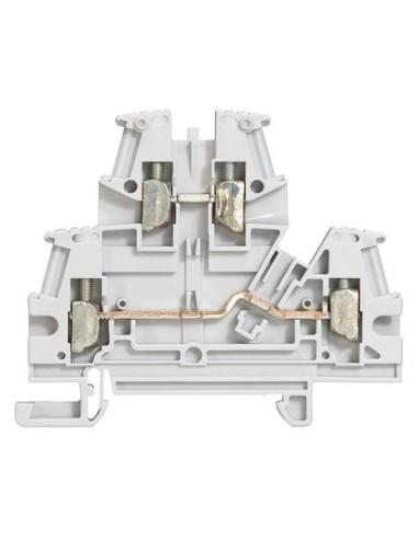 LEG 037168 - VIKING3-Morsetto 2 piani 4mmq 2 colegam.